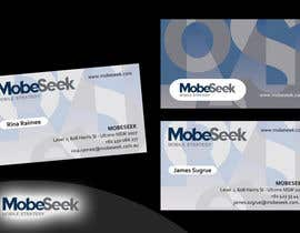 #71 para Business Card Design for MobeSeek por doddysu