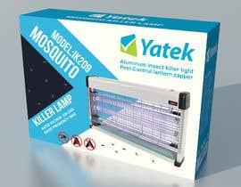 #37 untuk Create Print and Packaging Designs: Mosquito Killer UV Lamp oleh atidoria
