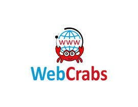 #45 for I need a logo design for website development company. Company name: Web Crabs. Need attractive and colourful logo for digital agency. by king271997