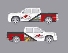 #65 para Partial truck wrap Grace Roofing & Construction por naharchhabekun