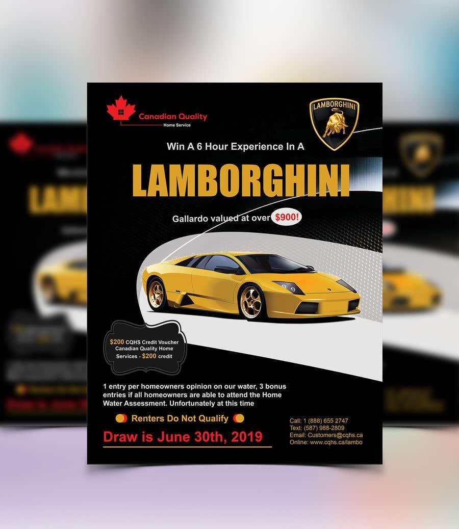 Конкурсная заявка №12 для Create a Marketing Flyer x 2