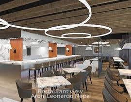 #40 para 3D interior Design of a Restaurant / Butcher Shop total de leonepa