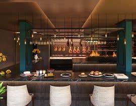 #26 para 3D interior Design of a Restaurant / Butcher Shop total de nguyenkhai1307