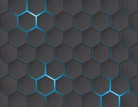 #73 for Backdrop: DARPA Black/Stylized Hexagon Pattern by airinbegumpayel
