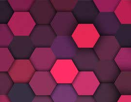 #75 for Backdrop: DARPA Black/Stylized Hexagon Pattern by airinbegumpayel
