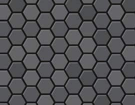 #82 for Backdrop: DARPA Black/Stylized Hexagon Pattern by dawnboyd