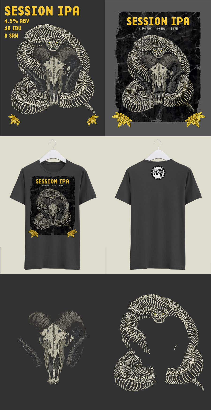 Kilpailutyö #27 kilpailussa 3 T-shirt design