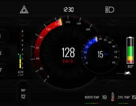 #19 cho Graphic for motorcycle dashboard bởi Watfa3D