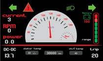 Bài tham dự #5 về Graphic Design cho cuộc thi Graphic for motorcycle dashboard