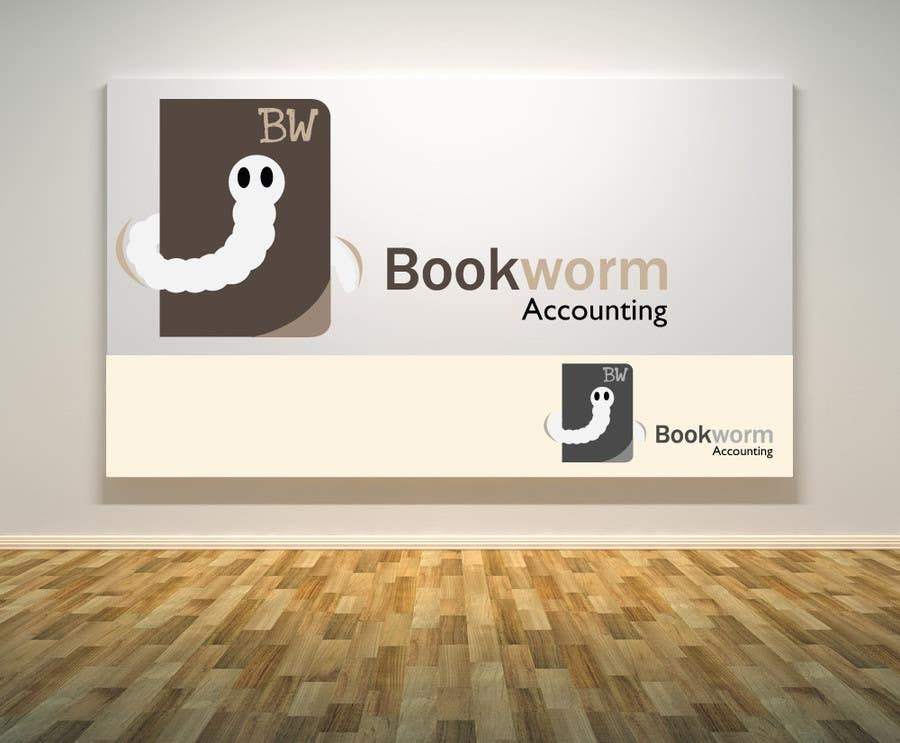 Contest Entry #                                        29                                      for                                         Logo Design for Bookworm Accounting
