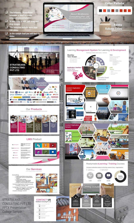 Kilpailutyö #17 kilpailussa Improving the PowerPoint Presentation