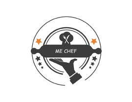 "Nro 1 kilpailuun I am a female chef and i need a logo for my kitchen.the logo should have Arabic and English Text . The name is ""Me Chef"" and in Arabic ""ميشف"" . käyttäjältä cgartist247"
