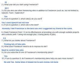 Nro 36 kilpailuun Provide candid feedback about Freelancer käyttäjältä PallaviH