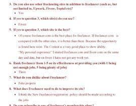 Nro 40 kilpailuun Provide candid feedback about Freelancer käyttäjältä Zubair4u