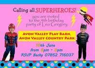 Proposition n° 4 du concours Graphic Design pour Create a superhero theme birthday invite