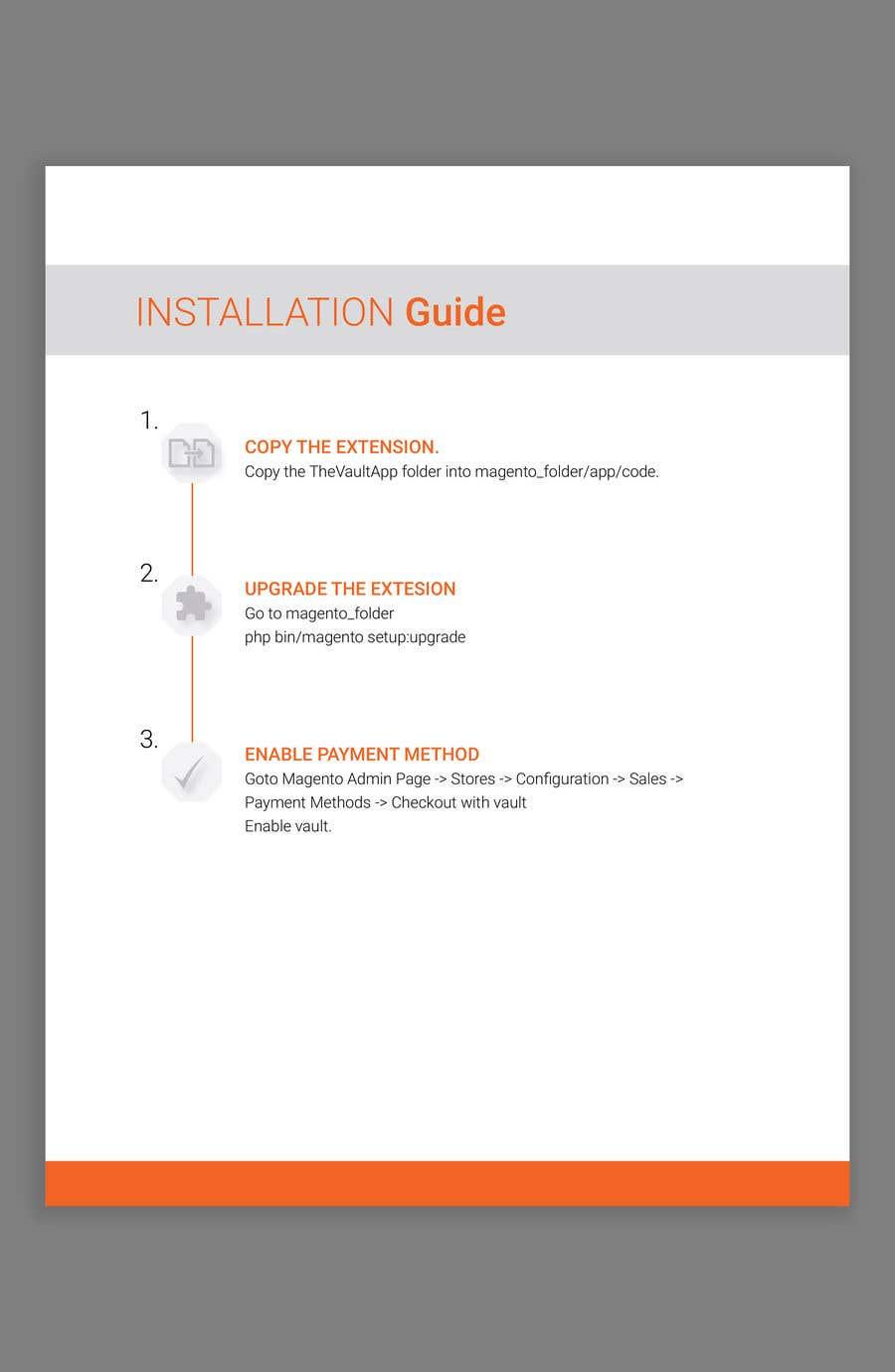 Kilpailutyö #                                        5                                      kilpailussa                                         Make an Installation PDF - Need Fast