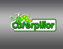 #29 untuk Create a cute caterpillar as the mascot logo for School accessories business oleh Dreamcatcher321