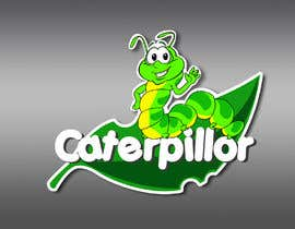 #30 untuk Create a cute caterpillar as the mascot logo for School accessories business oleh Dreamcatcher321