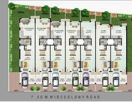 #5 para Planning row houses in a open plot por houseofluxenglam