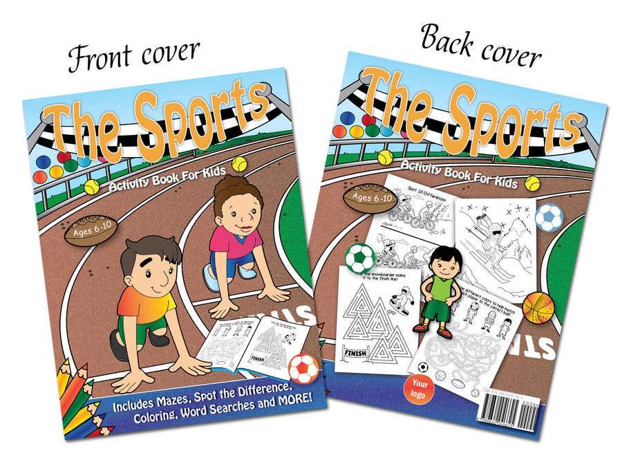 Penyertaan Peraduan #39 untuk Sports Activity Book Cover (6-10)