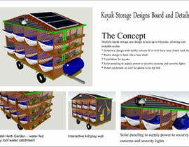 #11 for Design a multi kayak storage unit by shahidullah79