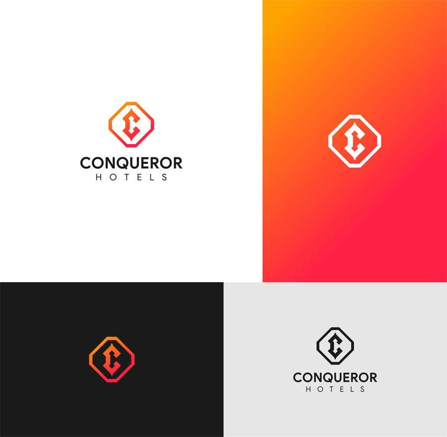 Kilpailutyö #455 kilpailussa Conqueror Hotels - Logo Design