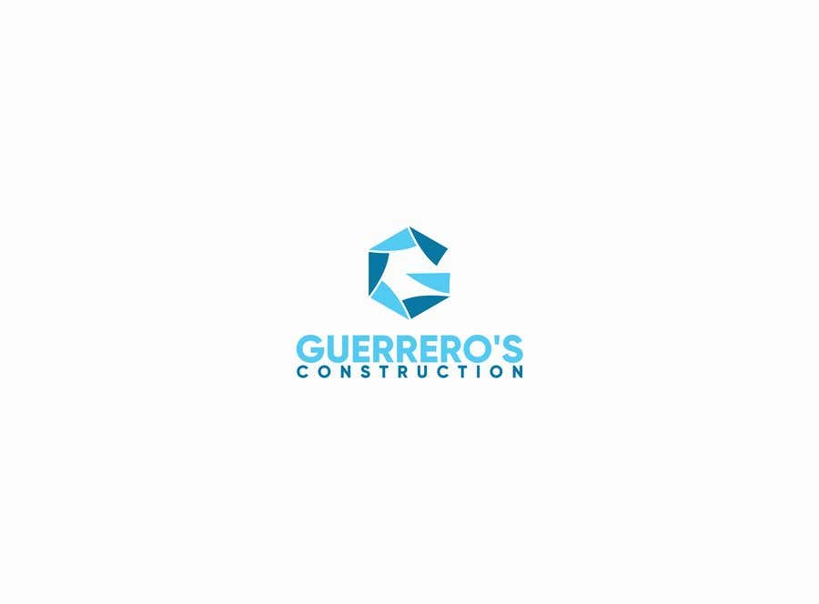 Konkurrenceindlæg #305 for Guerrero's Construction, logo Design