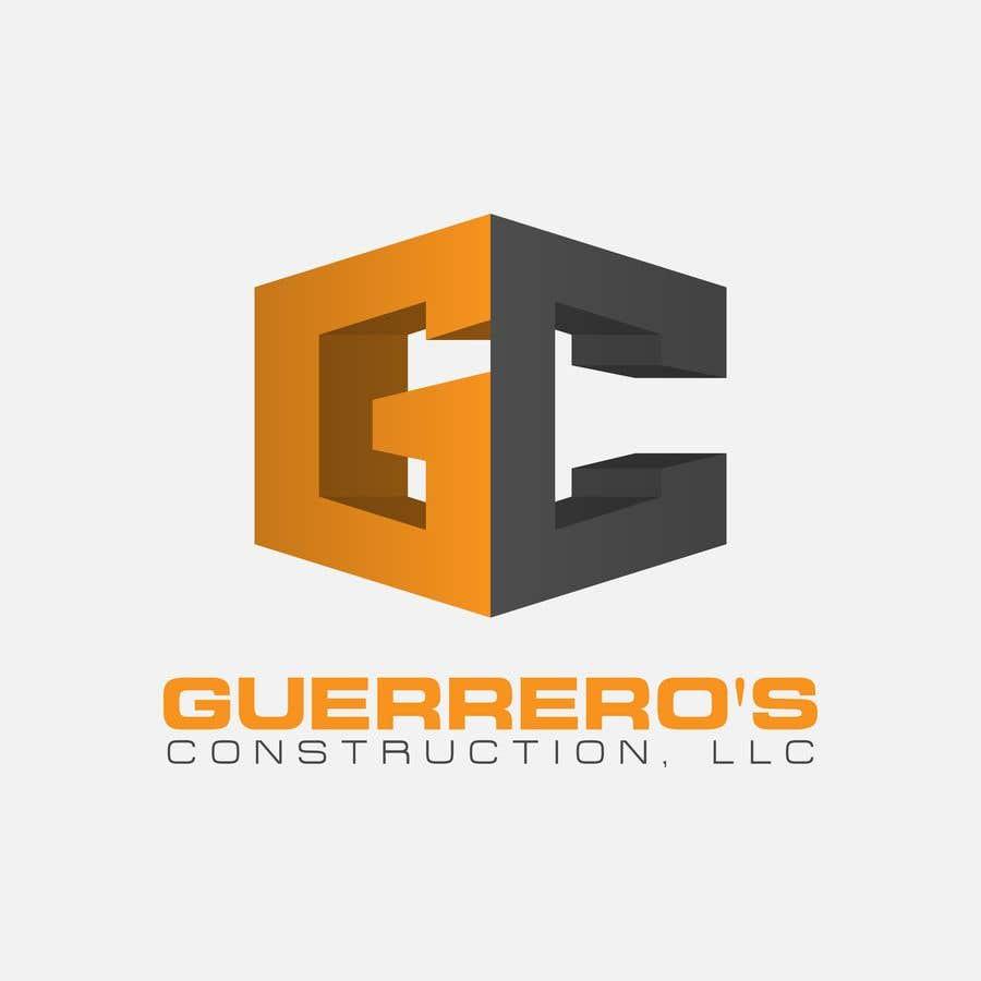 Konkurrenceindlæg #125 for Guerrero's Construction, logo Design