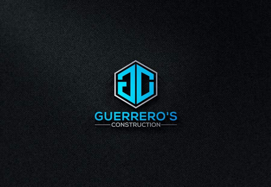 Konkurrenceindlæg #330 for Guerrero's Construction, logo Design