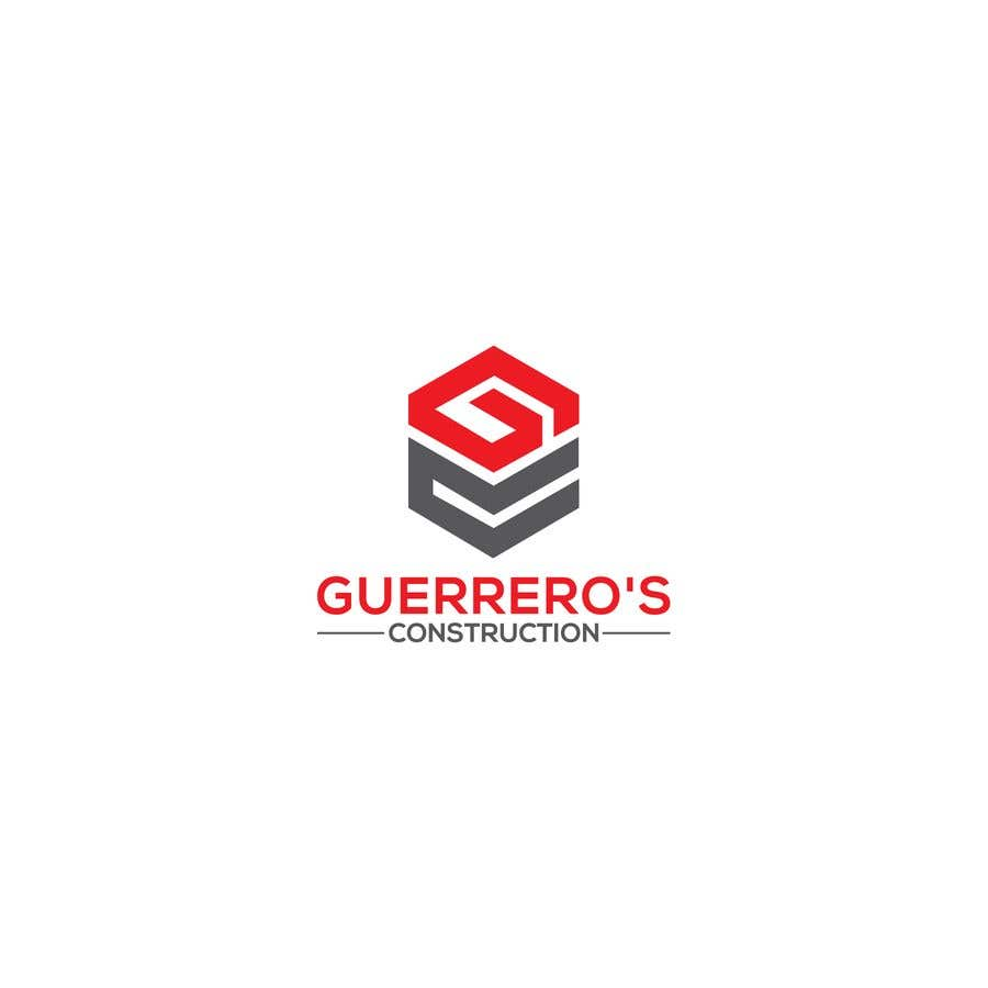Konkurrenceindlæg #338 for Guerrero's Construction, logo Design