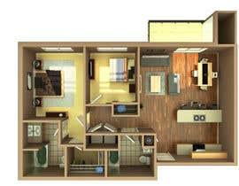 #43 para Floor PLan Lockwood Villas por jacekchybzinski