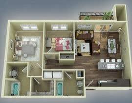 #37 para Floor PLan Lockwood Villas por ah3dvis