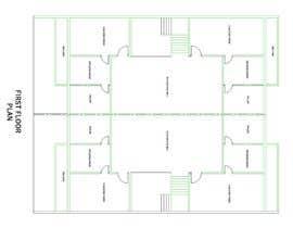 nº 6 pour Design a layout for a semidetached house and a tree-family-house par samirp284