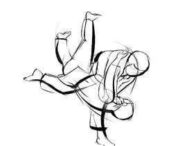 #56 for Create illustration of judo throw using a particular style af emmanuelaroxana