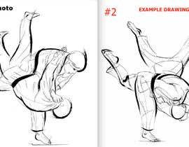 #44 for Create illustration of judo throw using a particular style af Cordaseth