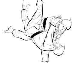 #46 for Create illustration of judo throw using a particular style af KabbiG