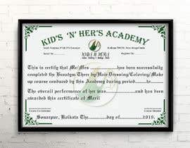 #50 cho Need a Certificate for Beauty Academy bởi Heartbd5
