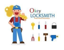 #146 for Okey Locksmith, Logo Design. by Mimcse