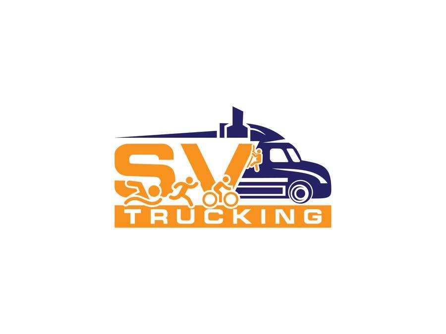 Конкурсная заявка №35 для Logo for a Trucking Company