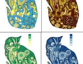 #3 untuk Color 4 Identical Cats - 4 Seasons oleh marwanugb