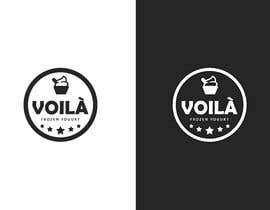 "#36 для CREATE A LOGO FOR A frozen yogurt brand ""VOILÀ"" от atifjahangir2012"