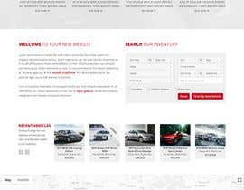 #59 for Design a landing page in PSD for a car dealer's website. by sktonmoy333