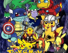 #20 for Create a Pokemon x Avengers Mashup Movie Poster af abogy