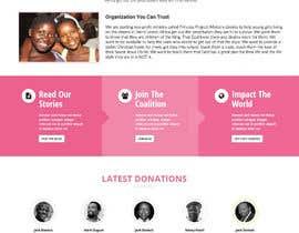 lassoarts tarafından Design a Website Mockup for Princess Project için no 138