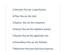 #13 for Thinking of 9 titles for our gamefication system by nikhilcse