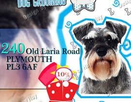 #1 для A5 Dog Grooming Flyer от huyleokinggggggg