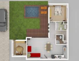 nº 14 pour Remodel my small L-shaped house par tanjiraumee
