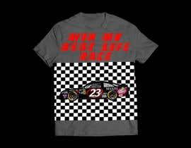 NazmusSakib1 tarafından Turn A Nascar Race Shirt Around T-Shirt Design için no 7