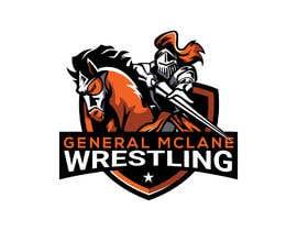 #43 untuk General McLane wrestling logo oleh mahfoozdesign