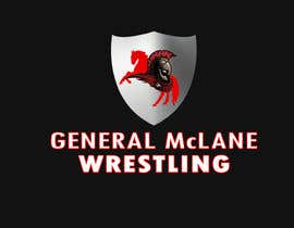 #17 for General McLane wrestling logo by Roybipul